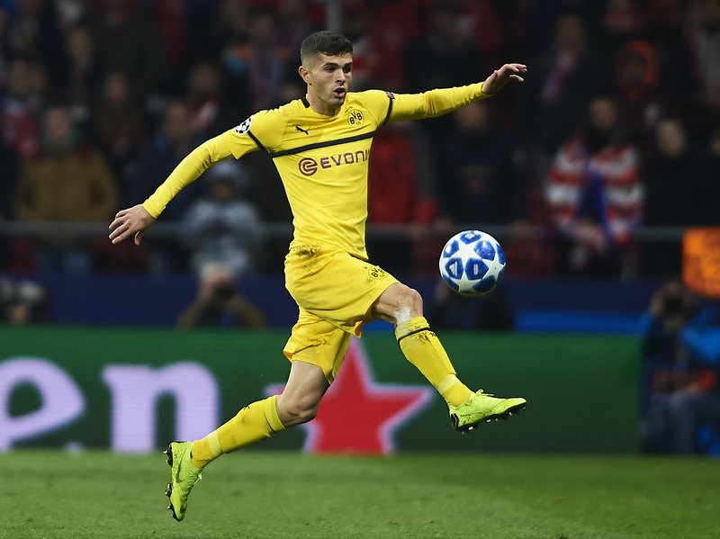 Pulisic Transfer to Chelsea Agreed
